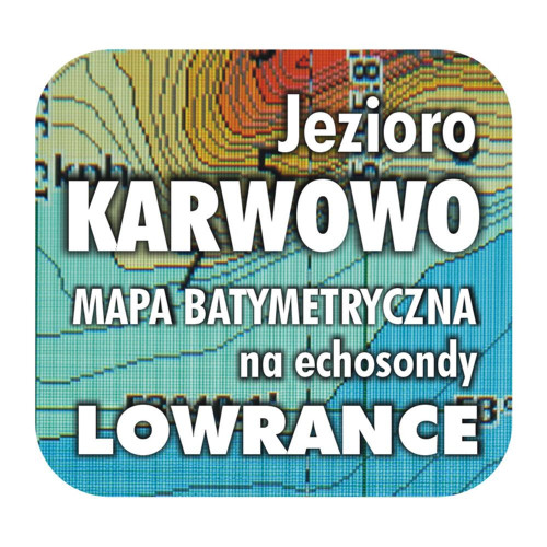 Jezioro Karwowo mapa na echosondy Lowrance Simrad
