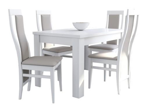 stoły i krzesła do salonu nowoczesne allegro