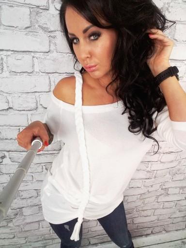 LipMar Sexowny sweterek WARKOCZ HIT KOLORY S 36