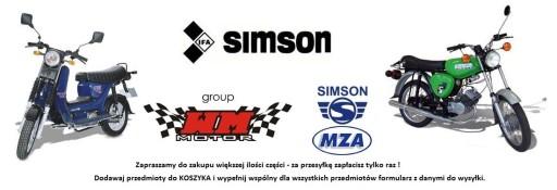SIMSON S51 - KOLANKO WYDECHOWE RURA CHROM - GŁOGÓW