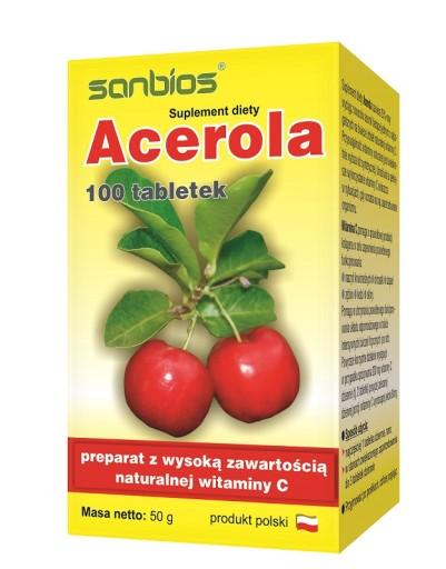 ACEROLA  x 100TABL. / SANBIOS