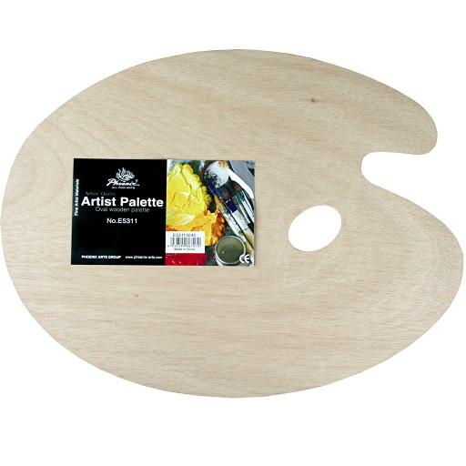 Paleta drewniana Phoenix 20x30cm, grubość 3 mm