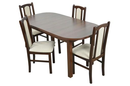 stół i 4 krzesła do jadalni