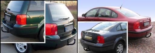HAK HOLOWNICZY+WIĄZKA VW PASSAT B5+FL+KOMBI+SEDAN