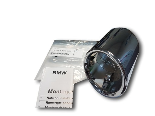 ORIGINALUS BMW APSAUGA ISMETIMAS CHROMAS BMW 5 F10 F18