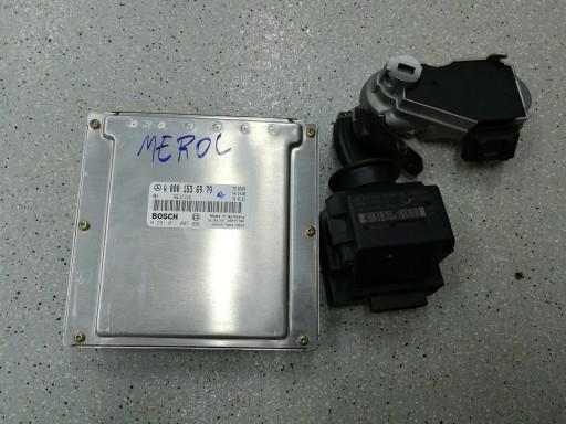 MERCEDES-BENZ W203 2.2 CDI RINKINYS STARTINIS 0001536979