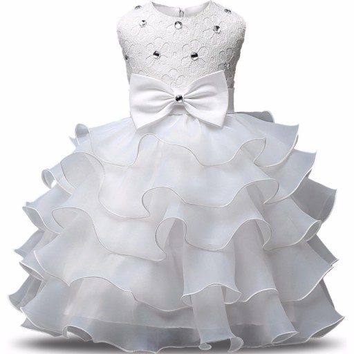 0ae99e16 CUDNA Wizytowa Sukienka 104-110 Wesele Urodziny