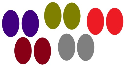 Latki Na Spodnie Kolory 5 Par Do Wyboru 6279416941 Allegro Pl