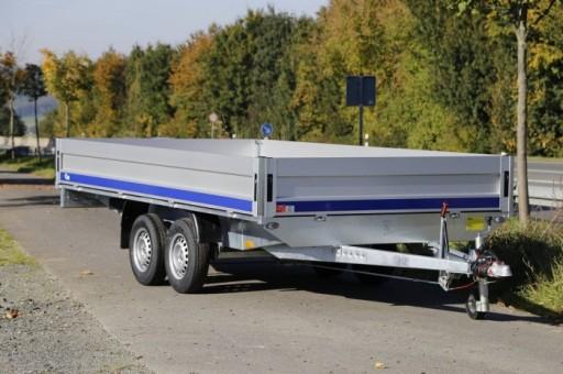 Przyczepa samochodowa 400x200 DMC 2700 kg Blyss