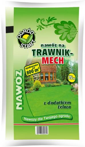 Ogrod Start Nawoz Do Trawy Trawnika Z Mchem 25kg 7227716090 Allegro Pl