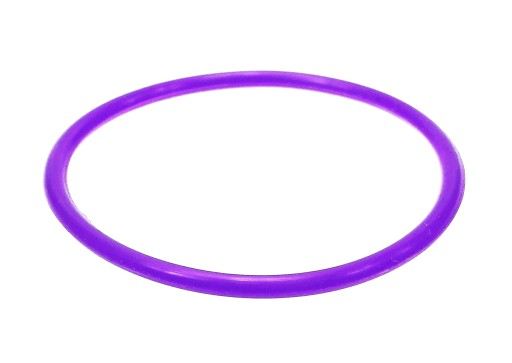 B429-3 Bransoletka bangle kolor fioletowy