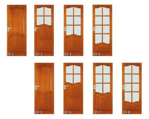 Drzwi Drewniane Z Ościeżnicą Do łazienki Wc Dt2 80