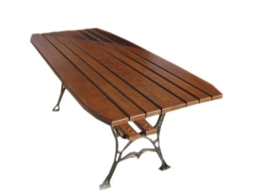 Drewniany Stol Ogrodowy Meble Ogrodowe 180cm S5 7241785586 Allegro Pl