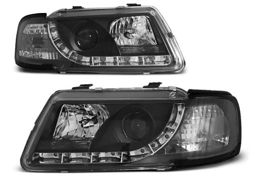 LAMPY przód AUDI A3 8L 96 LED DRL jazdy dziennej