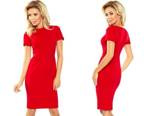 fbade46f8b Krótka Letnia Sukienka WYJŚCIOWA DO PRACY 150-2 XL (7183867942 ...