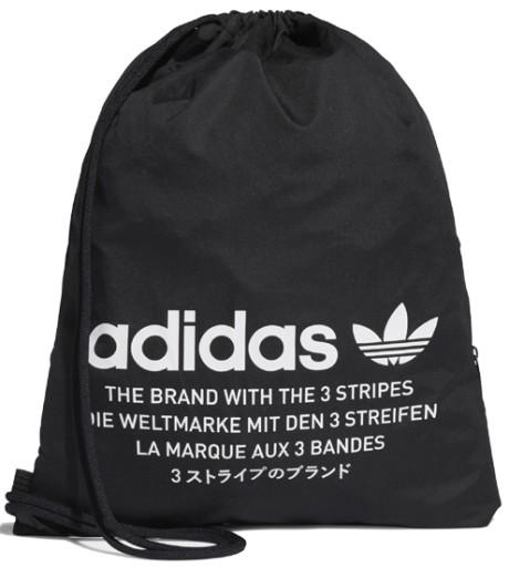 Worek na buty i odzież Trefoil Adidas Originals (czarny)