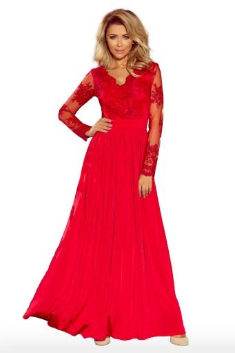 e8cbd9fb41 ROZKLOSZOWANA MAXI Sukienka SUKNIA BALOWA 213-3 S Płeć Produkt damski