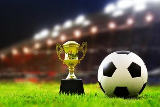 Plakat Piłka Nożna Stadion Murawa Puchar