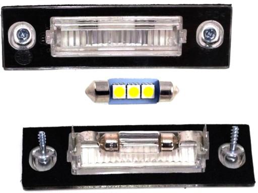 NUMBER THE LANTERN THE LAMP LED FIAT STILO 01-