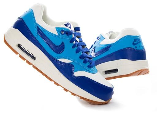 fc91af3c34a33 Buty damskie Nike Air Max 1 VNTG 555284-105 7766974013 - Allegro.pl