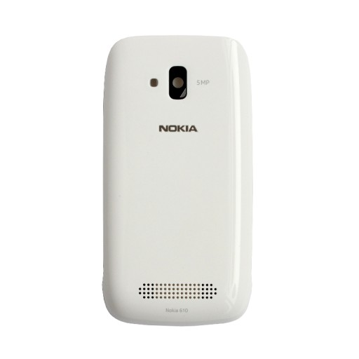 Nokia Lumia 610 Klapka Baterii Panel Obudowa Biala 7596708727 Sklep Internetowy Agd Rtv Telefony Laptopy Allegro Pl