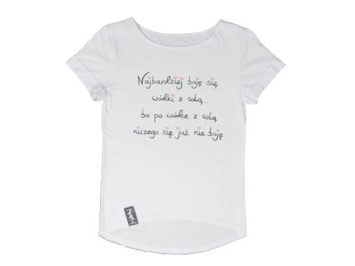 Smieszne Koszulki Mala Mi Handmade Diy S M K6 5730927589 Allegro Pl