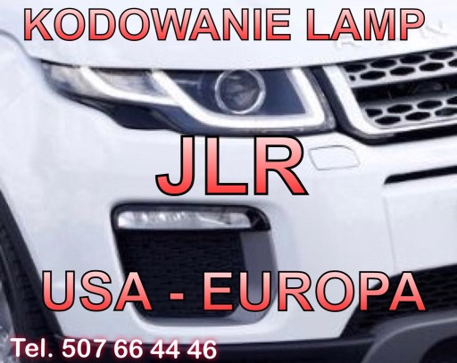 KODOWANIE ZIBINTAS JAGUAR LAND ROVER JLR USA - EURO