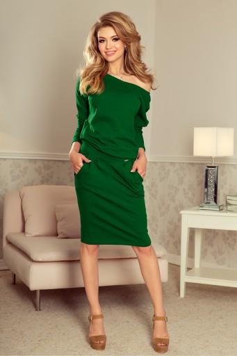 c1852af24b MODNA Sukienka Na Komunie OŁÓWKOWA DRES 189-3 M 38 Płeć Produkt damski