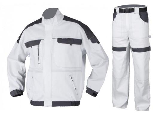 ddb2488838 Białe Ubranie Robocze dla Malarza Tynkarza 46 6676149264 - Allegro.pl