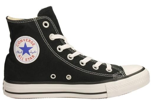 Czarne Tekstylne Buty Trampki Converse rozmiar 35 kup
