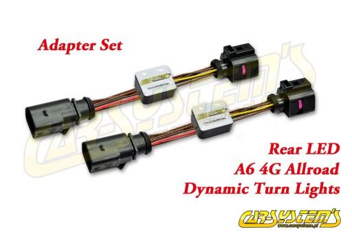 AUDI Audi A6 4G ALLROAD - Semi-Dynamiczne kierunki