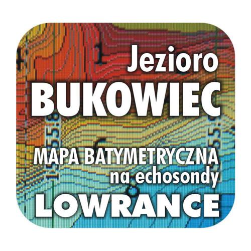 Jezioro Bukowiec mapa na echosondy Lowrance Simrad