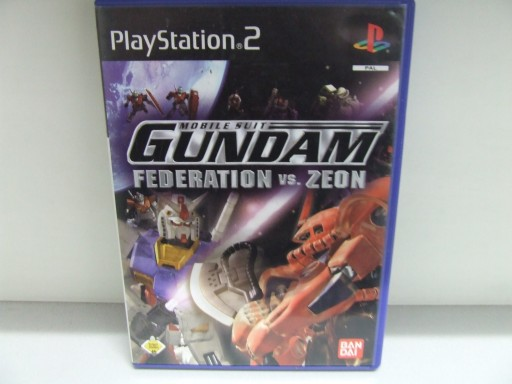 PS2 Mobile Suit Gundam Federation vs  Zeon