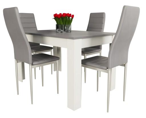 Stół Z 4 Krzesłami Do Kuchni