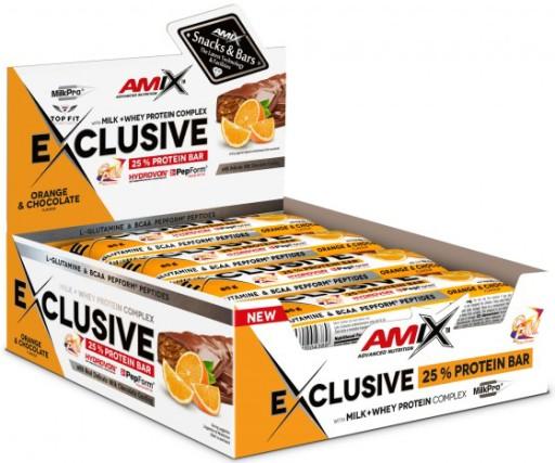 Amix Exclusive BATON PROTEINOWY 12x85