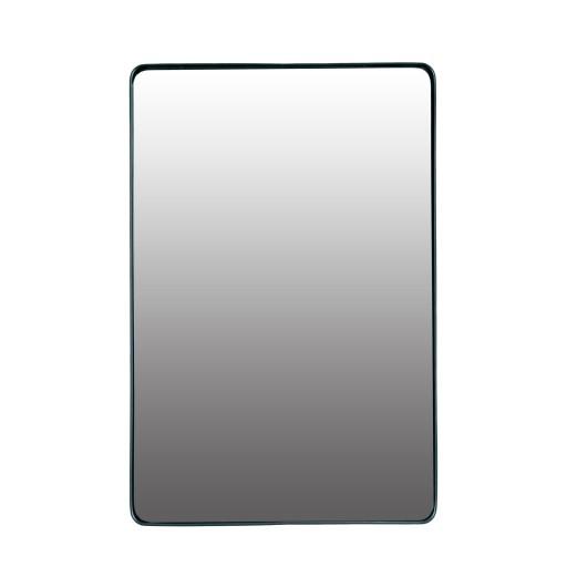Lustro Prostokątne Metalowe Czarne 60x40cm 7440551060 Allegropl