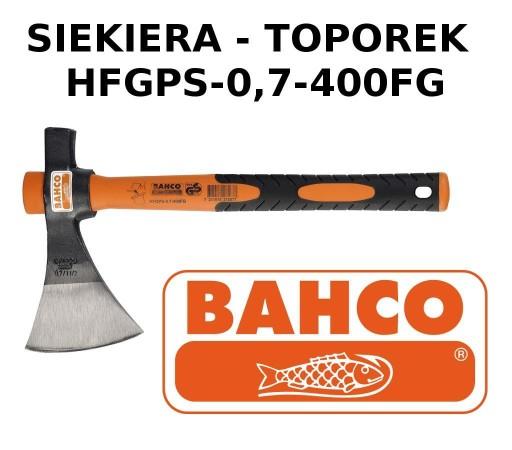 SIEKIERA TOPOREK WŁÓKNO HFGPS-0.7-400FG BAHCO