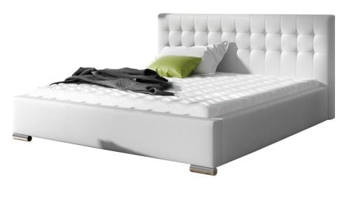 łóżko Jazz Tapicerowane Do Sypialni 160x200 Ribes