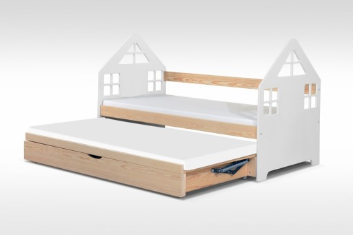 łóżko Domek Ze Skrzynią Na Pościel Hit