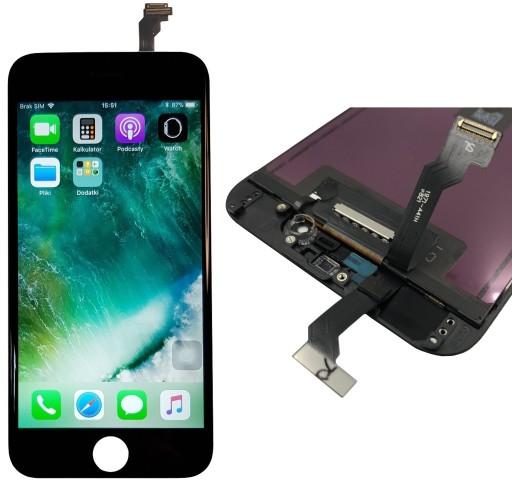 Wyświetlacz iPhone 6 LCD Ekran szybka Dotyk CZARNY