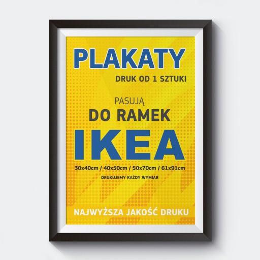 Plakaty Do Remek Ikea Ribba Hovsta I Inne Druk