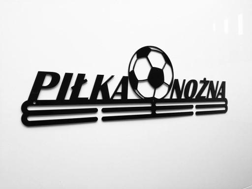 Świeże Wieszak na medale PIŁKA NOŻNA 55 CM 7233571120 - Allegro.pl AQ85