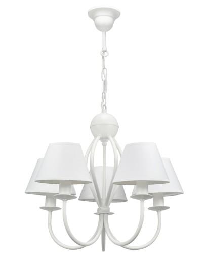 Piękna Biała Lampa Do Sypialni żyrandol Hiatus 5