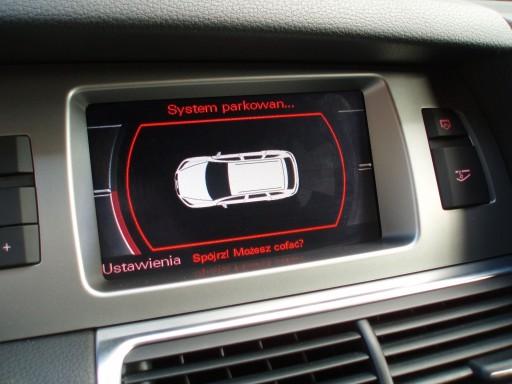 Audi MMI 2G opcja PARKTRONIK GRAFICZNY A6 A8 Q7