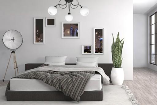 Elegancka Lampa Sufitowa Do Sypialni Salonu Led