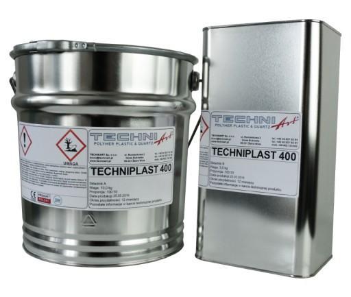 Żywica epoksydowa Techniplast 400 krystaliczna 3kg