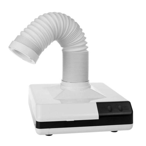 Mocny Pochłaniacz pyłu do paznokci 2w1 LED, 360°