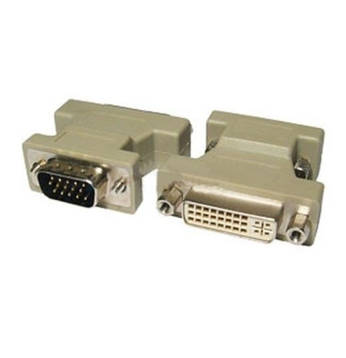 Adapter Do Monitora Dvi I Dvi Zenski Do Vga Meski Sklep Komputerowy Allegro Pl