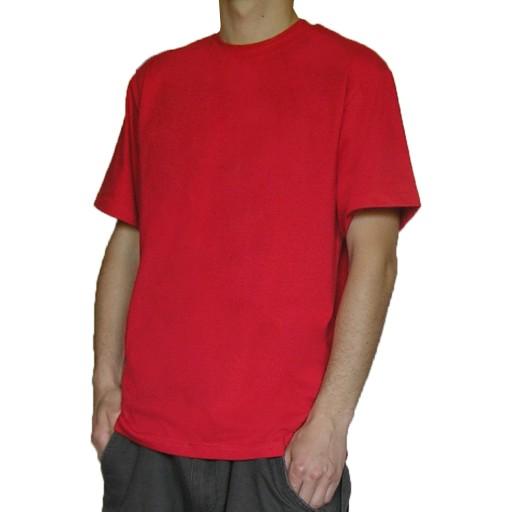 f99e5b6ff9c838 TheCo - Gładka koszulka t-shirt - czerwony - XXXL 6889573218 ...