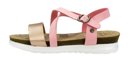 BIG STAR sandały damskie AA274377 różowe 41